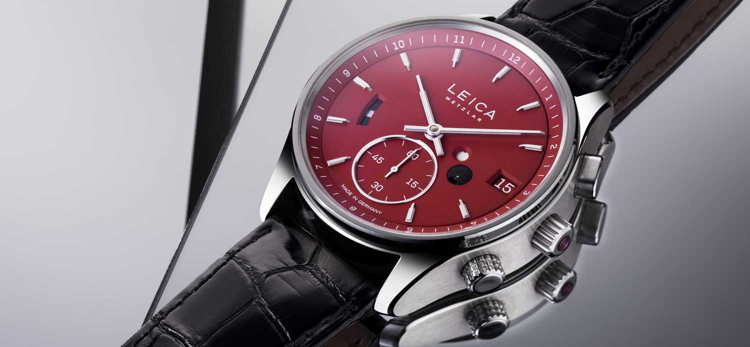 L2 GMT in a red dial (Image © Revolution)