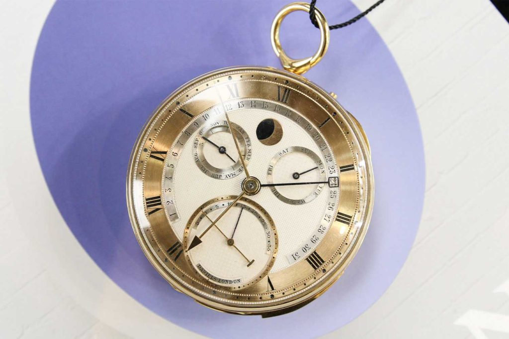 George Daniels Grand Complication Pocket Watch (Photo: Kevin Cureau)