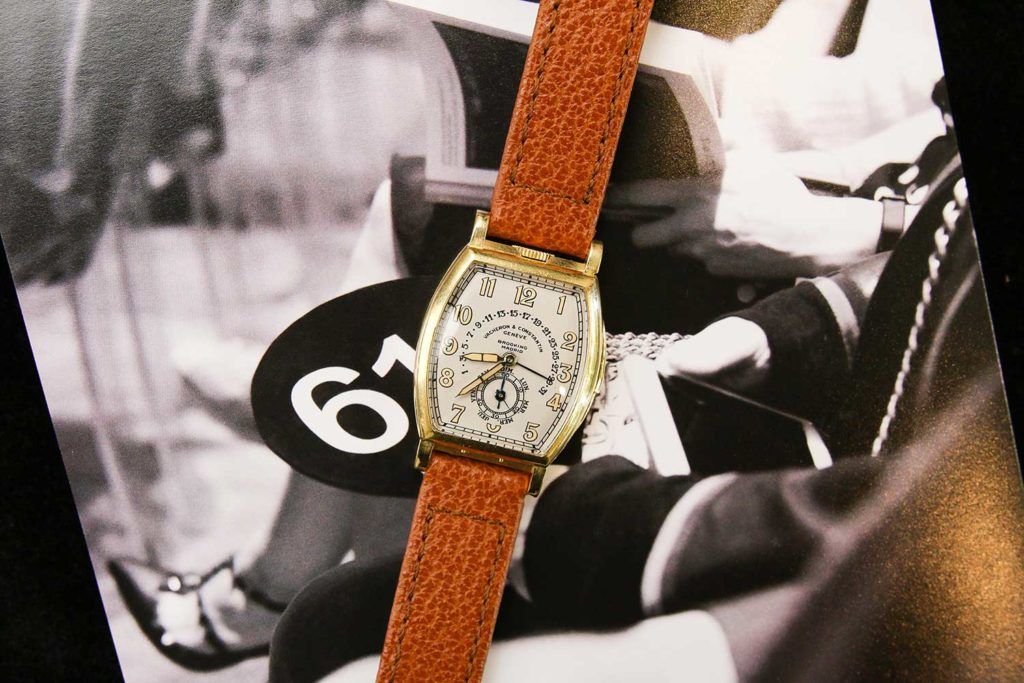 "Lot 109: Vacheron Constantin Reference 3620 ""Don Pancho"" (Photo: Kevin Cureau)"