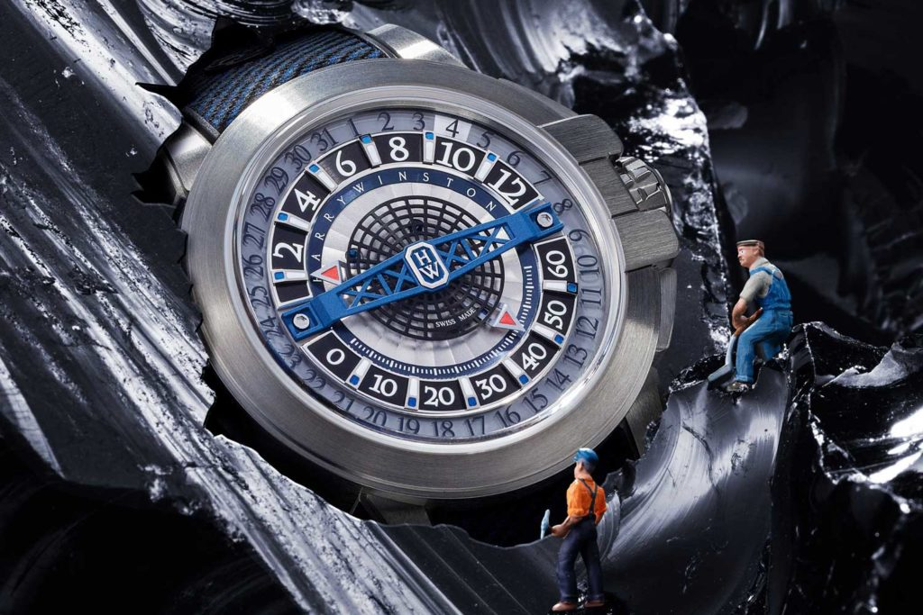 Harry Winston Project Z12 in Zalium (Image © Revolution)