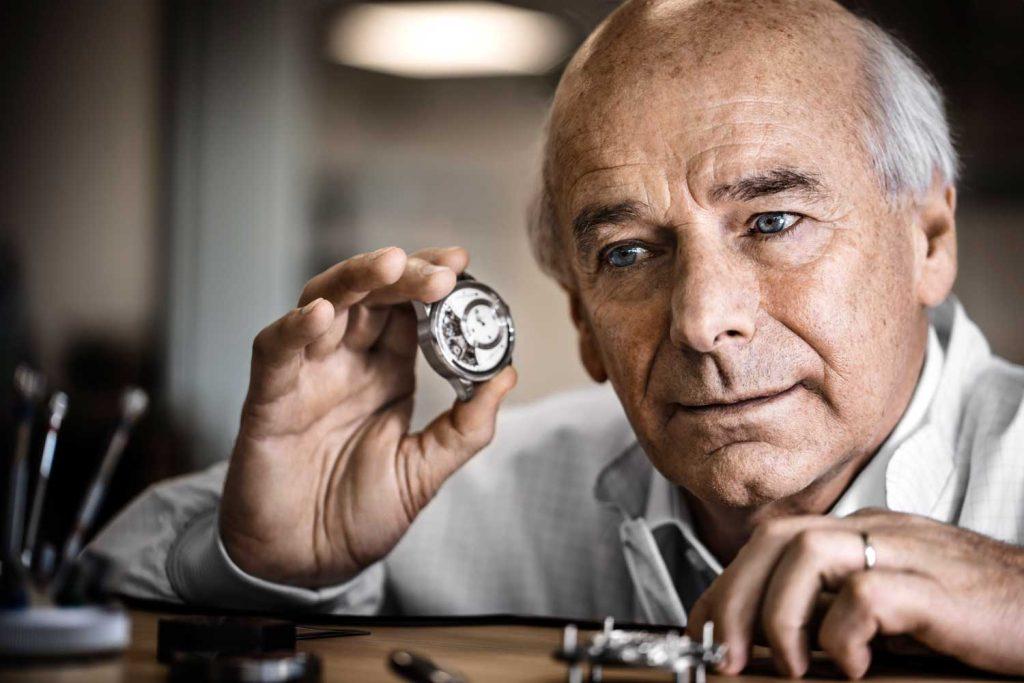 Jaeger-LeCoultre watchmaker Christian Laurent