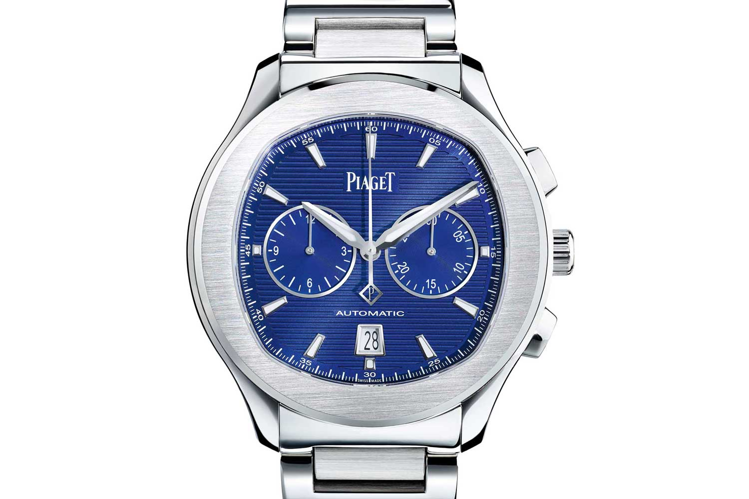 Piaget Polo S chronograph driven by the cal. 1160P in-house movement