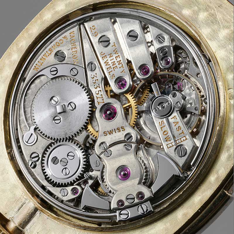 The minute repeater with day and retrograde date movement