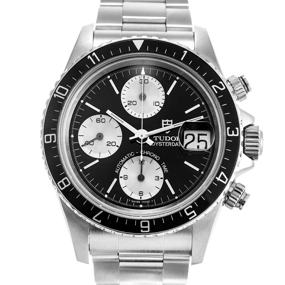 Ref. 79270 – Prince Oysterdate with black aluminum rotating 12-hour bezel (Image: Watchfinder.co.uk)