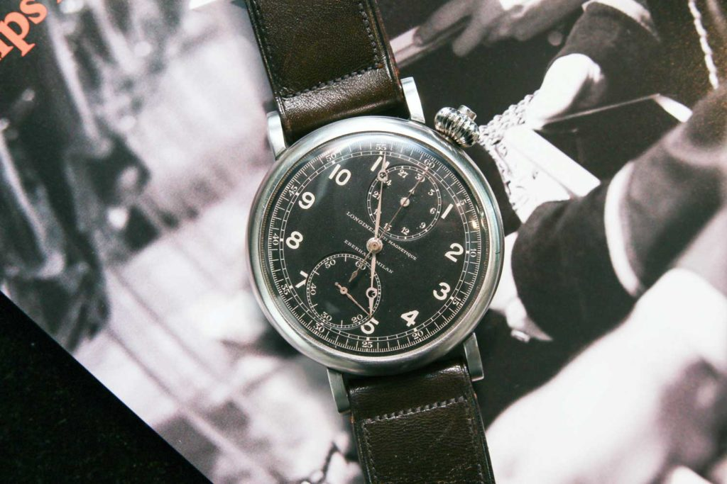 Lot 209: Longines Ref. 3592 (Photo: Kevin Cureau)