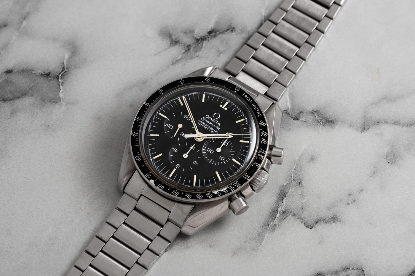 Tiffany Stamped Speedmaster ref. 145.022-69, part of the Phillips Hong Kong Watch Auction: Eight (Image © Revolution)