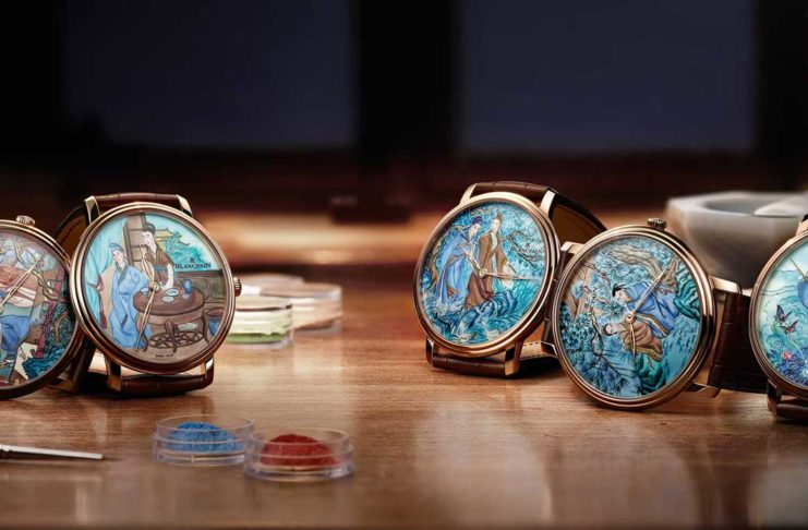 Blancpain Villeret Manuelle Piece Unique pieces with enamel dials