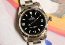 "Lot 1040 – Rolex Explorer ""Inverted 6"""
