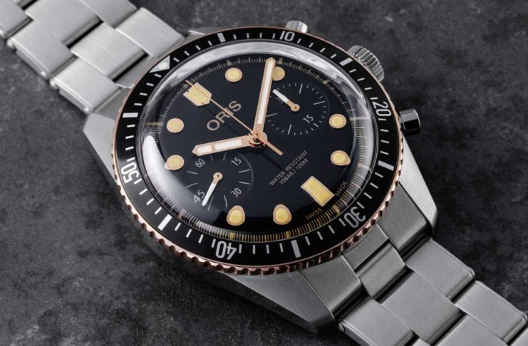 Oris Divers Sixty-Five Chronograph (Image © Revolution)