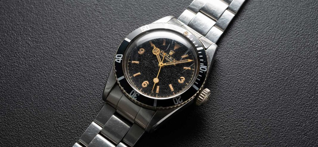Lot 220: Rolex Big Crown reference 6200 sold for nearly CHF 600,000 (Photo by Christopher Beccan, founder of @BEXSONN)