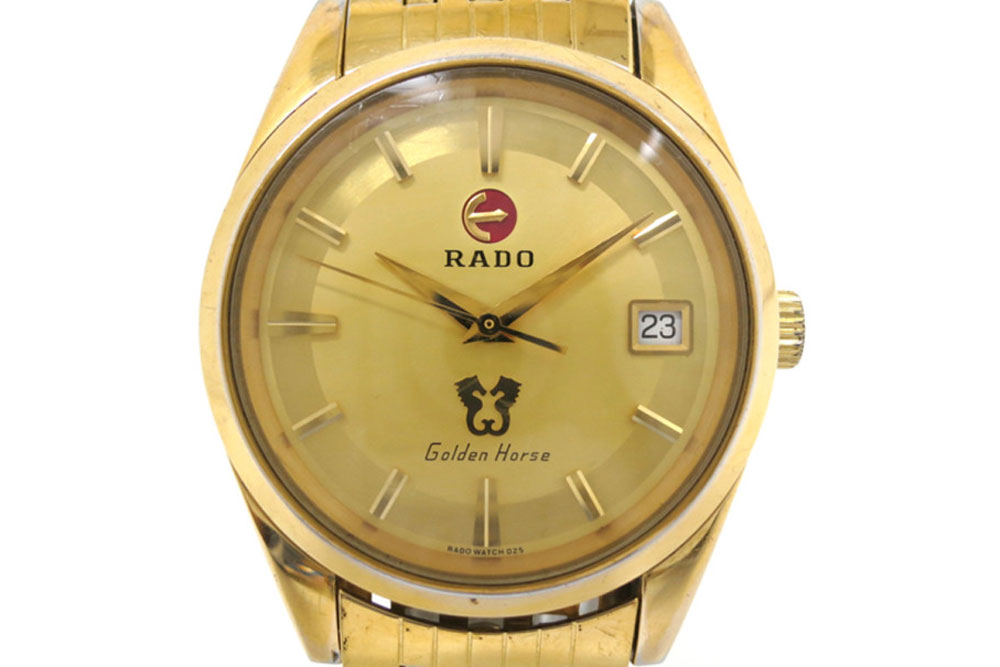 Rado iconic Golden Horse collection (Image: theluxurycloset.com)