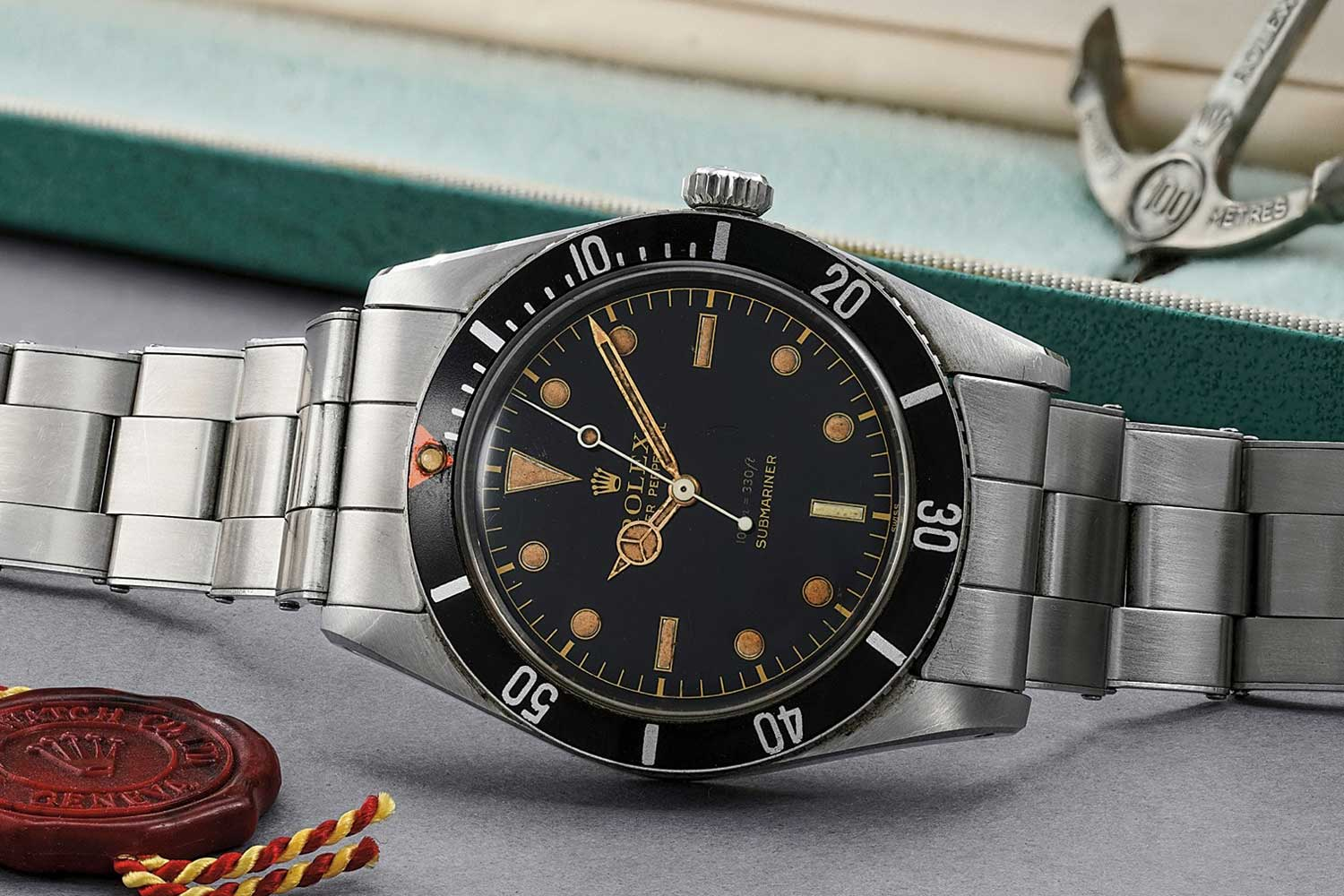 Lot 213: Rolex Submariner reference 5508 sold for CHF 500,000