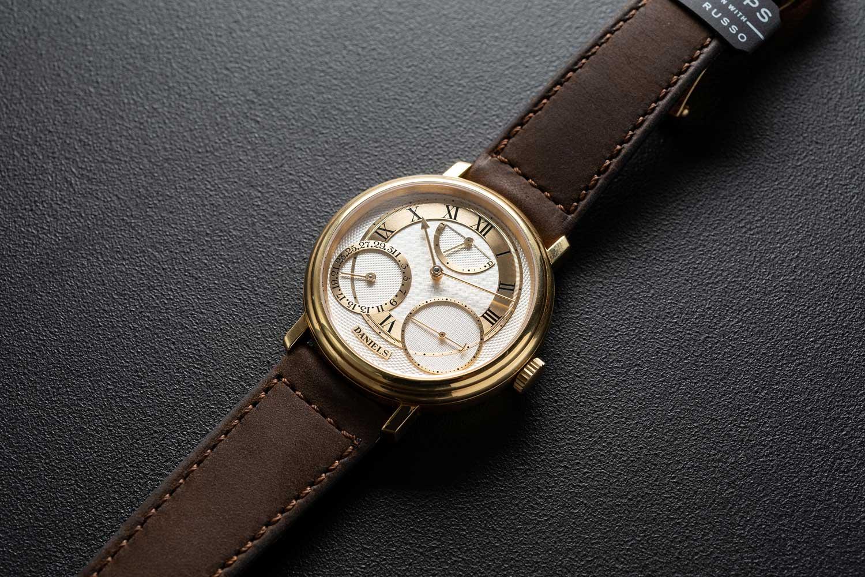 Lot 32: George Daniels wristwatch (Image © Revolution)