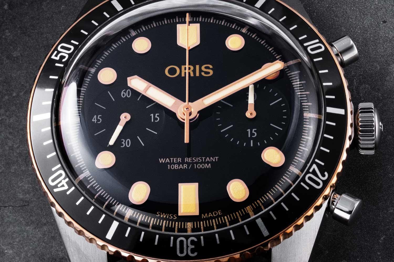 Oris Divers Sixty-Five Chronograph (Image © Revolution)