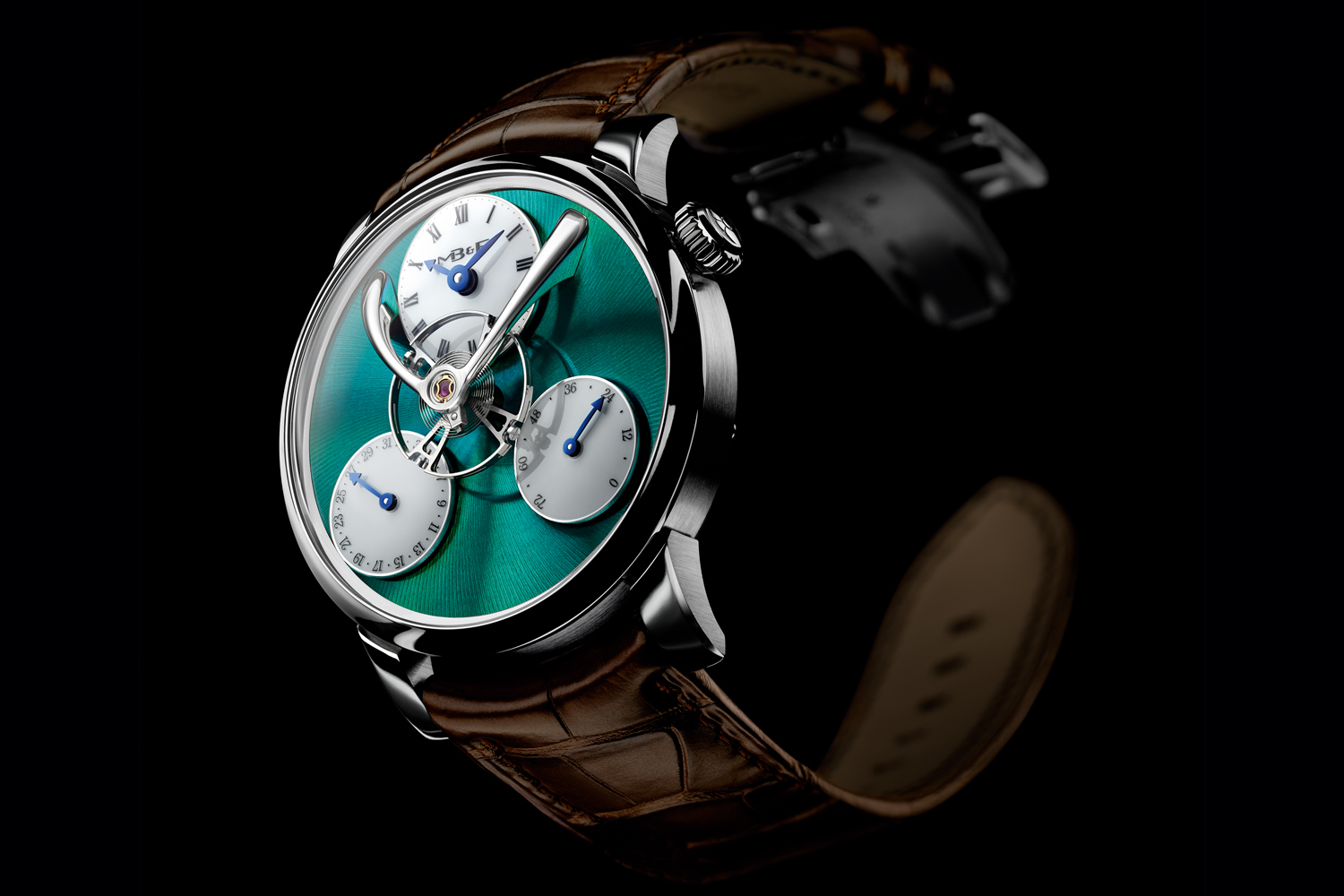 MB&F LM Split Escapement Titanium Green