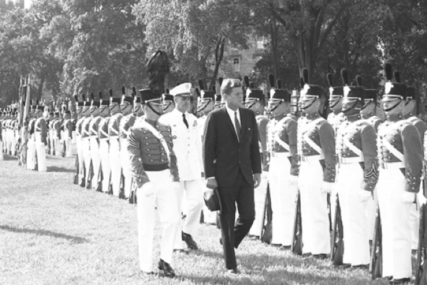 President Kennedy at West Point, 1962