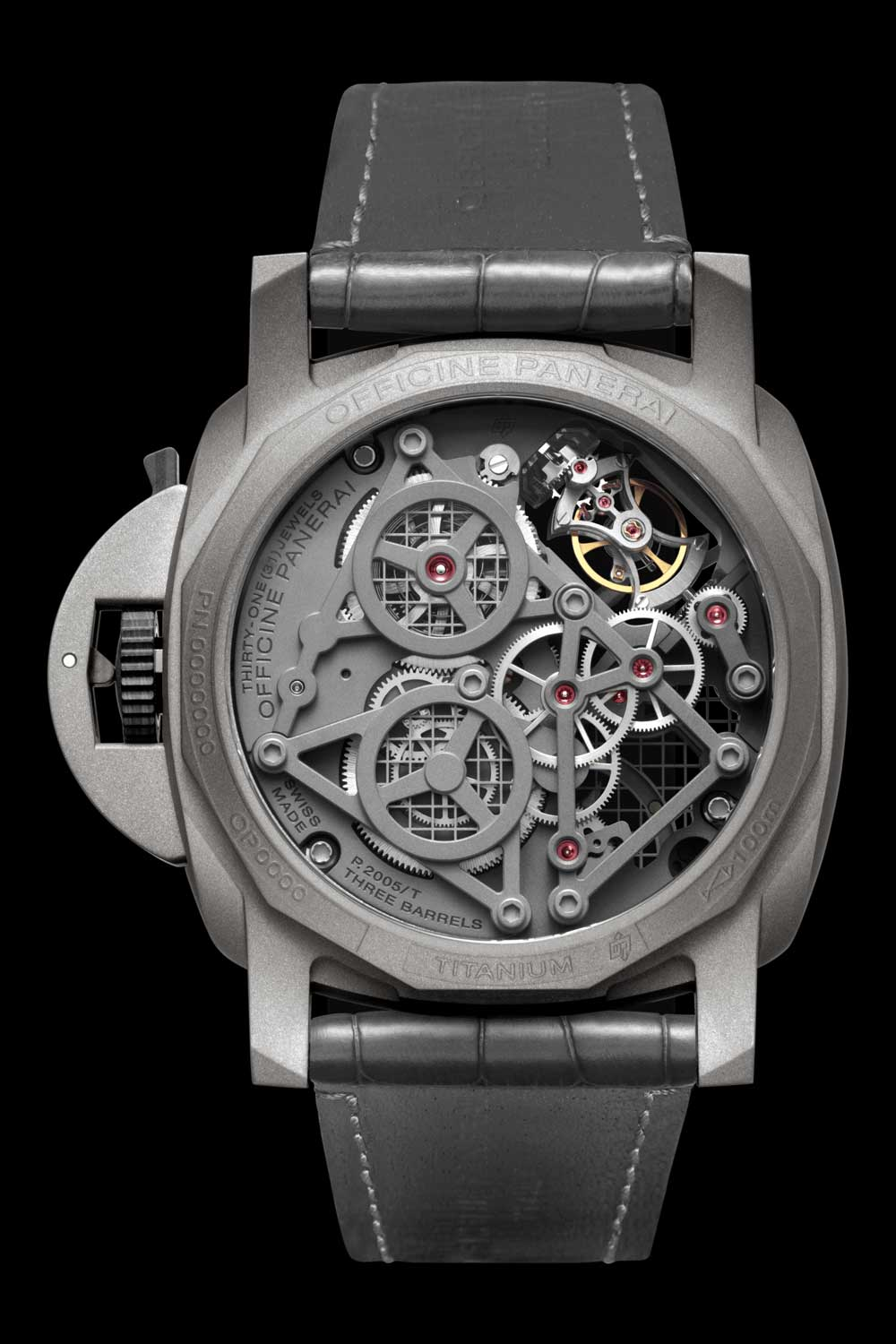 PAM00768 Lo Scienzato Luminor Tourbillon GMT 47mm