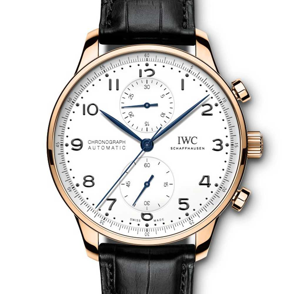 """IWC Portugieser Chronograph Edition """"150 Years"""" driven by the cal. 69355"""