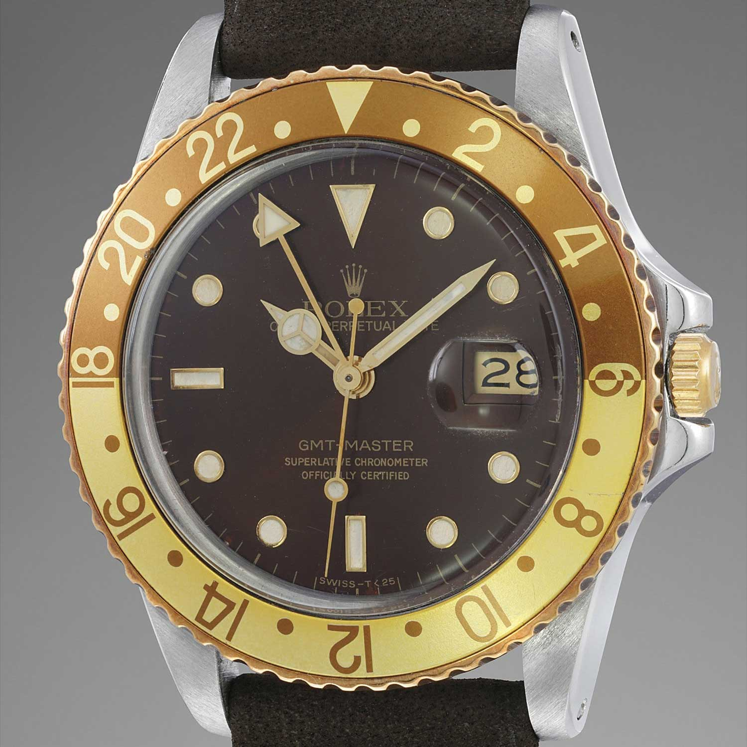 Lot 39: Rolex GMT-Master reference 16753 sold for CHF 24,375