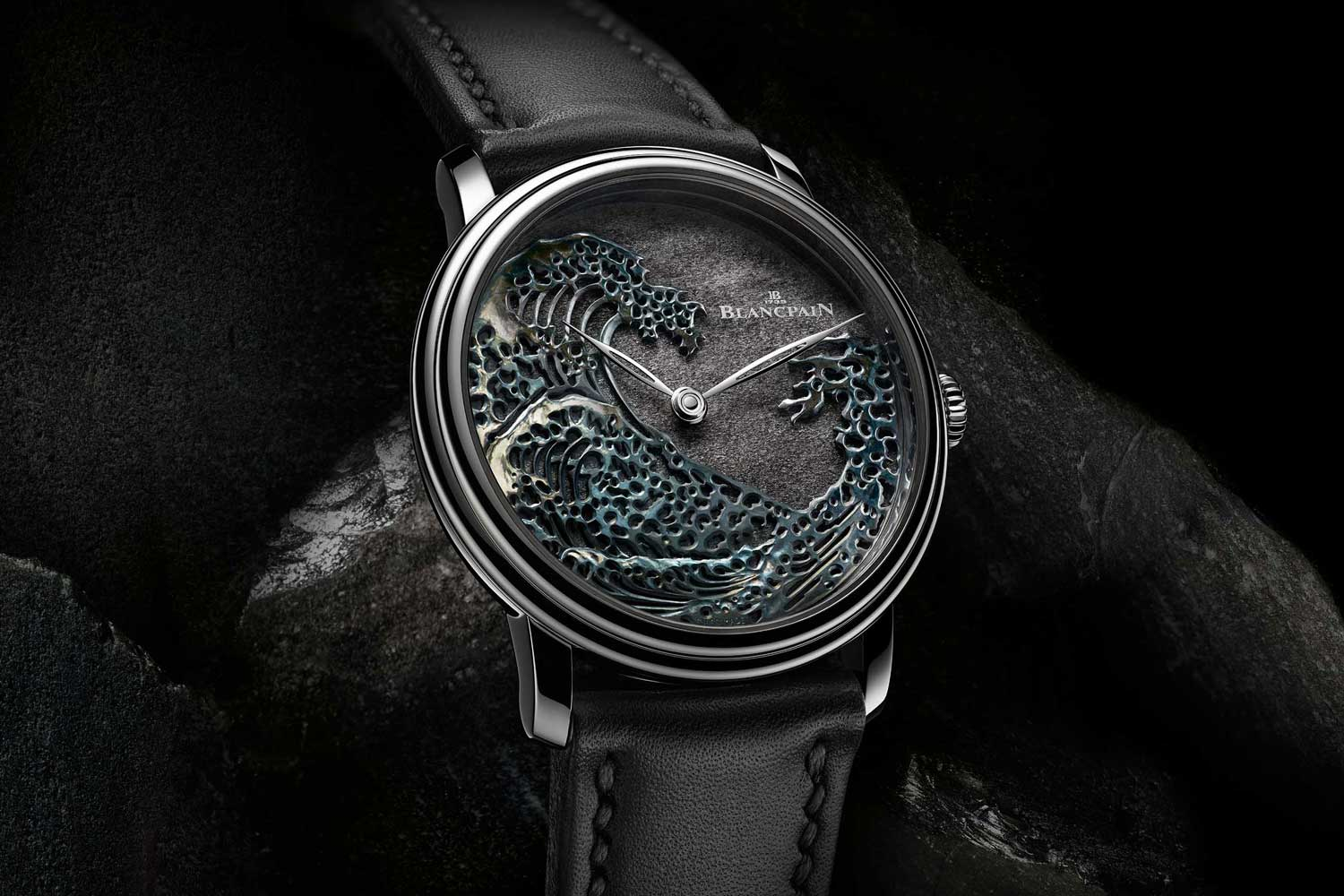 Blancpain Métiers d'Art 'The Great Wave' with Shakudō dial