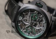 PAM00768 Lo Scienzato Luminor Tourbillon GMT 47mm (Image © Revolution)