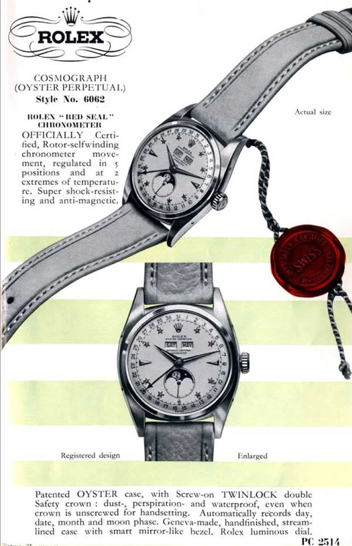 6062 Cosmograph Advert