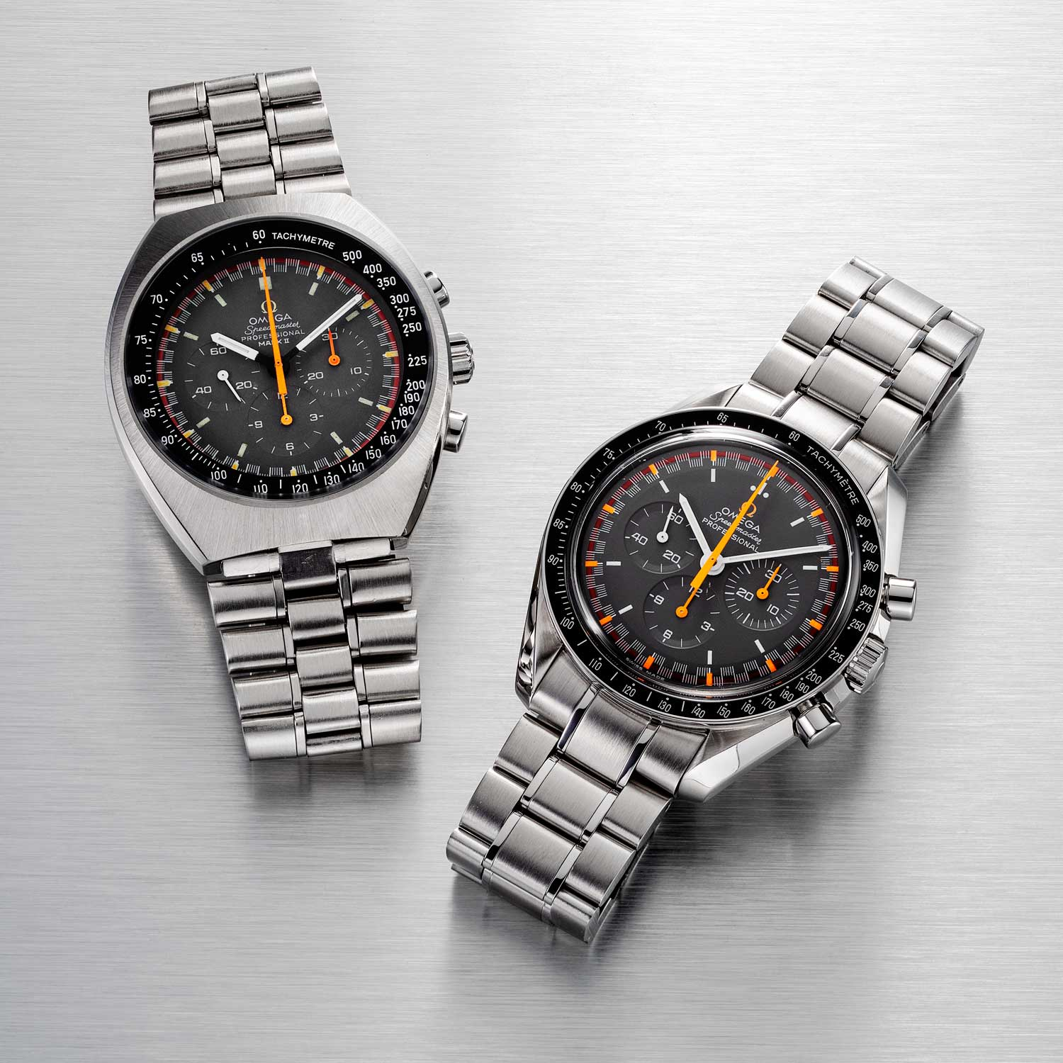 The Mark II and the Limited-Edition Japan Racing Dial (Image: ©Revolution)