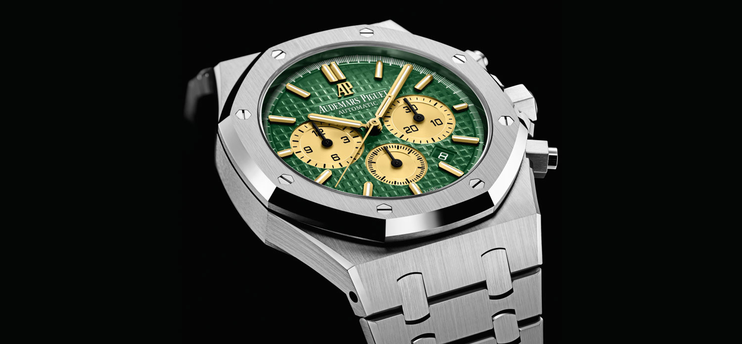 The AP Royal Oak Selfwinding Chronograph, The Hour Glass Commemorative Edition