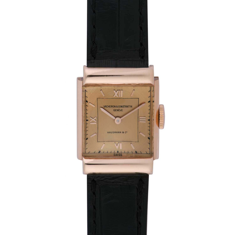 Vacheron Constantin Les Collectionneurs - 18k pink gold wristwatch, 1941 (No.11731)