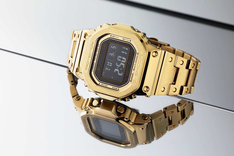 G-Shock Full Metal 5000 màu vàng phủ IP (Hình ảnh © Revolution)