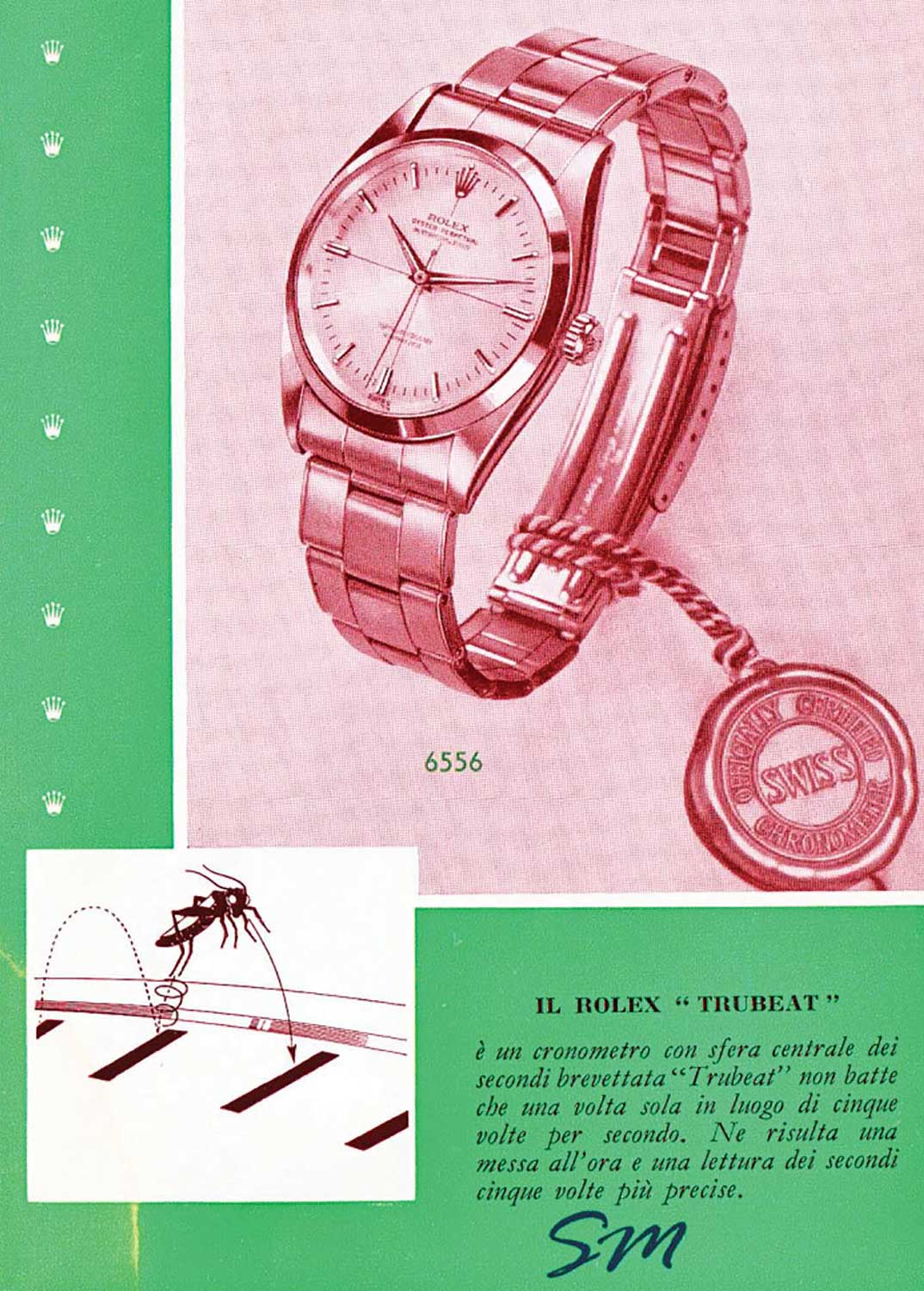 Rolex Truebeat advertisement