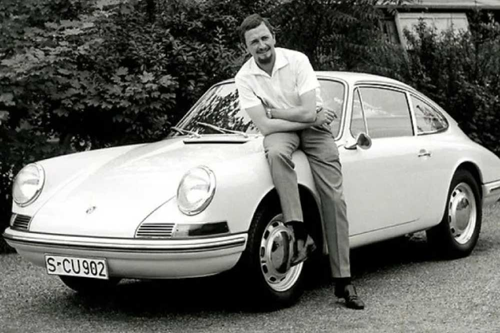 Ferdinand Alexander 'Butzi' Porsche, designer of the Porsche 911