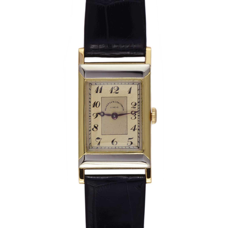 Vacheron Constantin Les Collectionneurs - 18k yellow & white gold wristwatch, 1927 (No.11775)