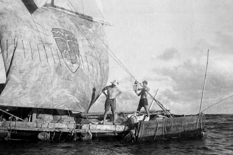 Kon-Tiki Raft