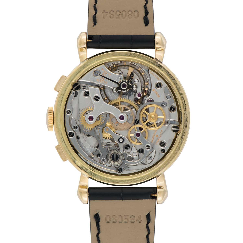 Vacheron Constantin Les Collectionneurs - 18k yellow gold 30-minute counter chronograph, 1941 (No.11052)