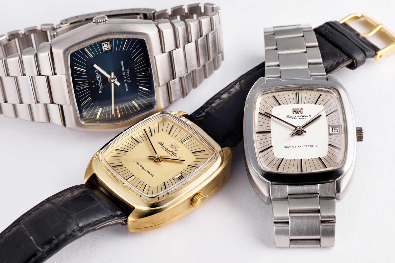 IWC Beta 21 watches