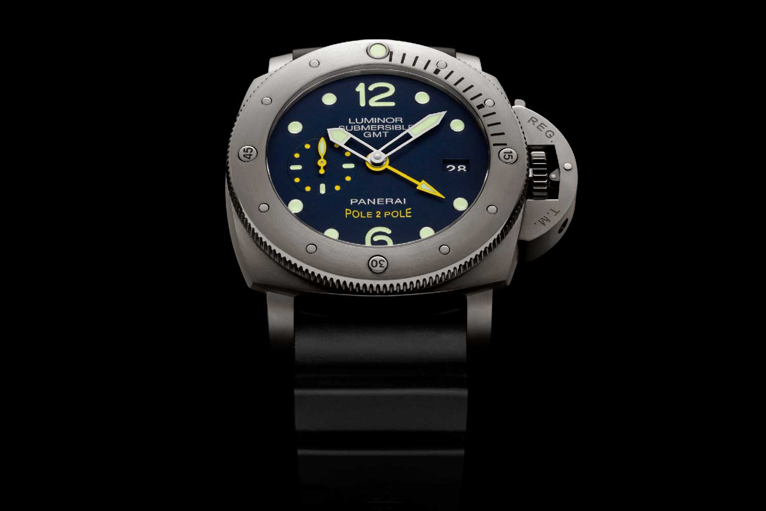 The PAM00719 is a watch with input from Mike Horn so that he could use it to survive the Antarctic.