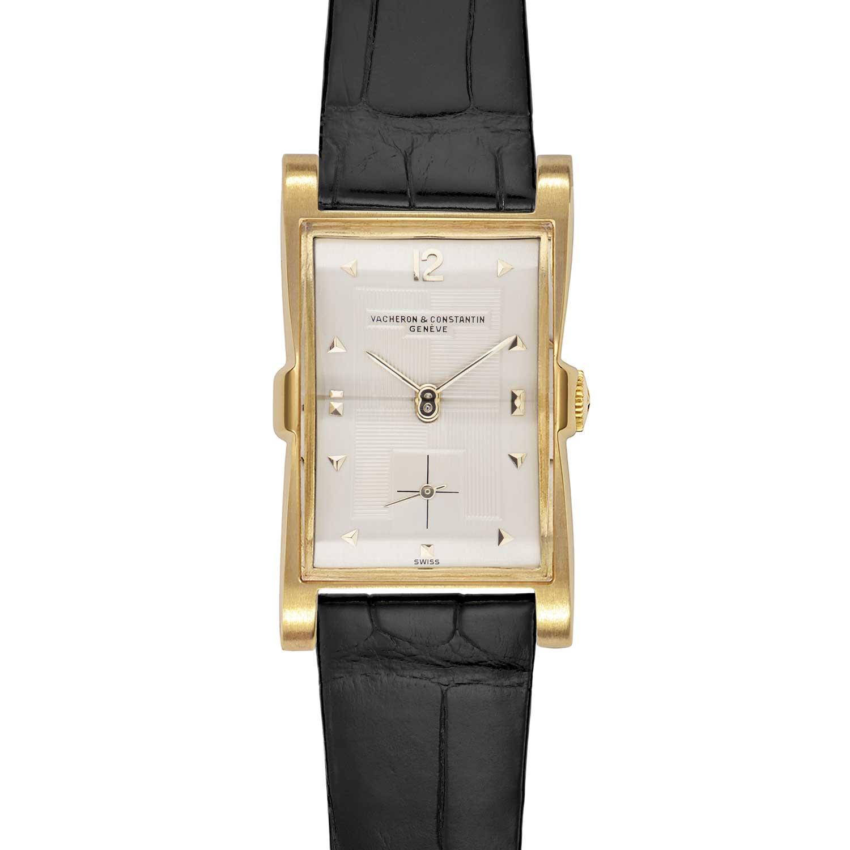 Vacheron Constantin Les Collectionneurs - 18k yellow gold wristwatch, 1949 (No.10343)