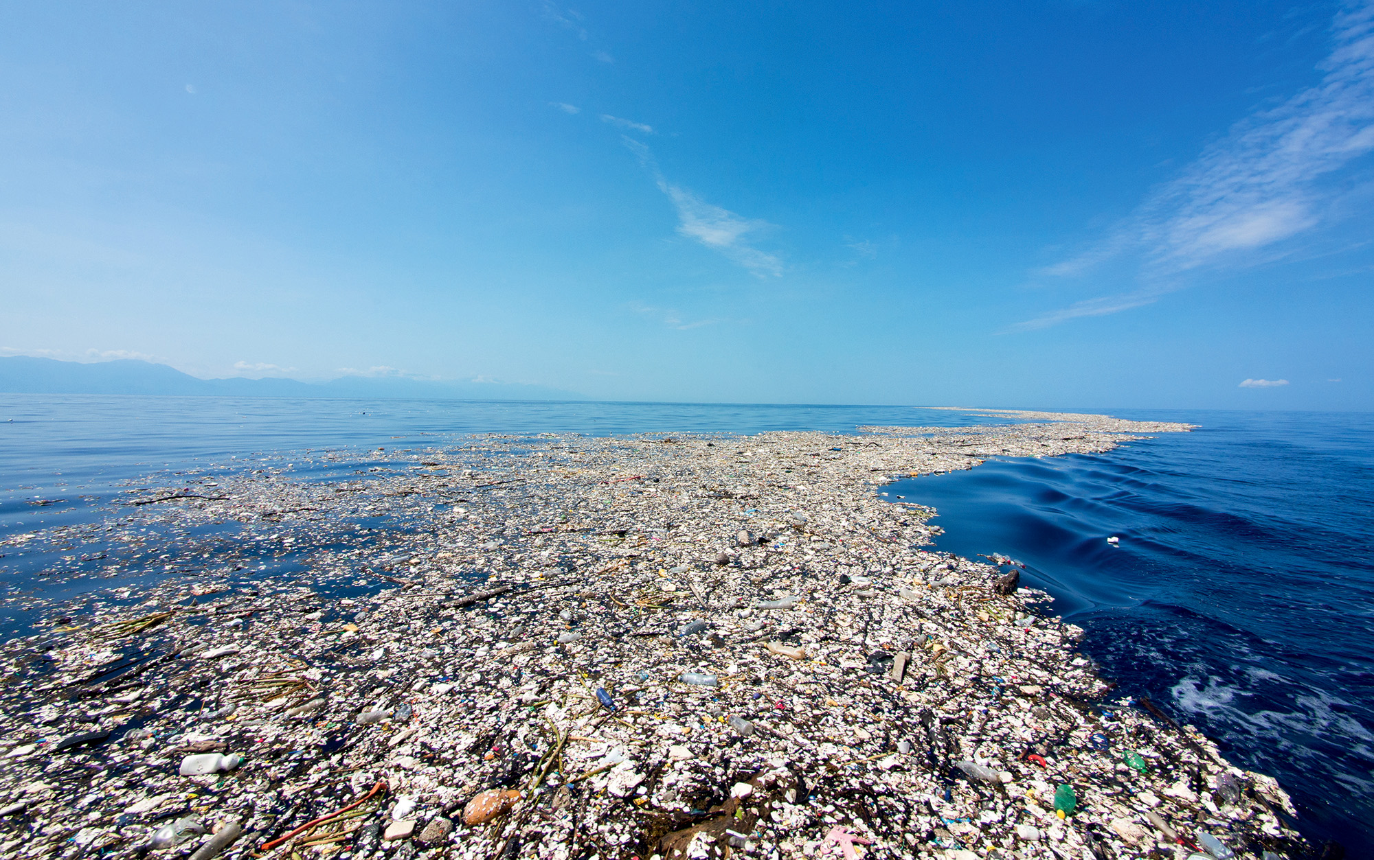 Revolution shines a spotlight on ocean conservation on World Oceans Day with Oris. Shown here is an ugly but realistic sight of marine pollution today.