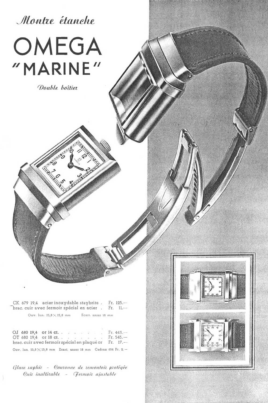 Omega Vintage Advertisement