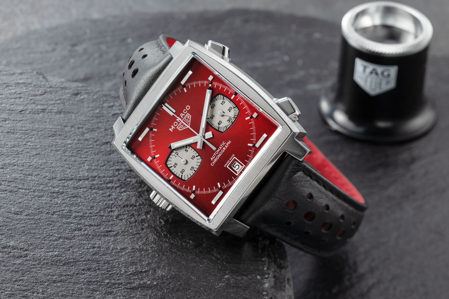 "TAG Heuer Monaco 1979–1989 Limited Edition ""Le Mans"" (Image © Revolution)"