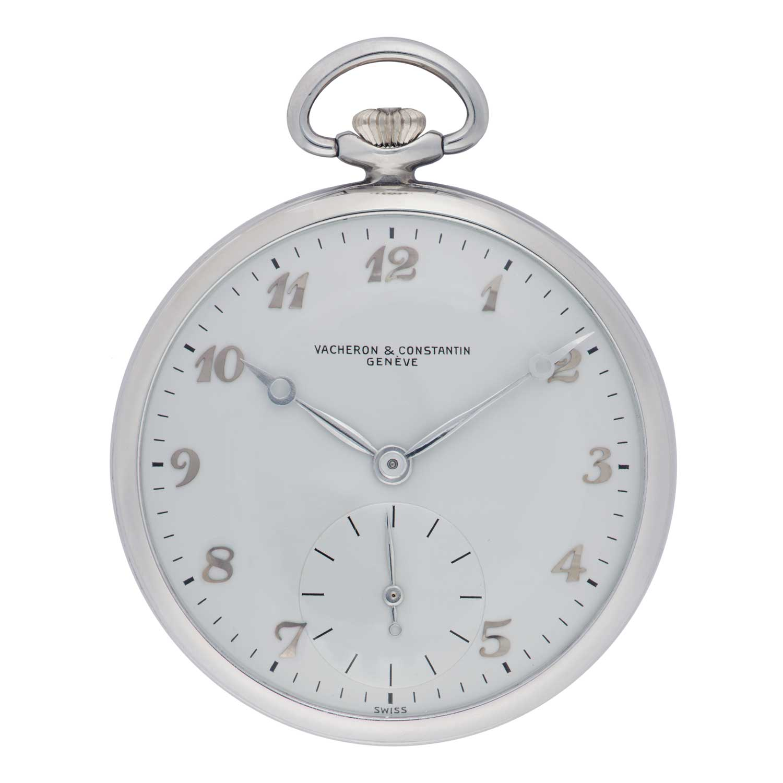 Vacheron Constantin Les Collectionneurs - Aluminium pocket watch, 1953