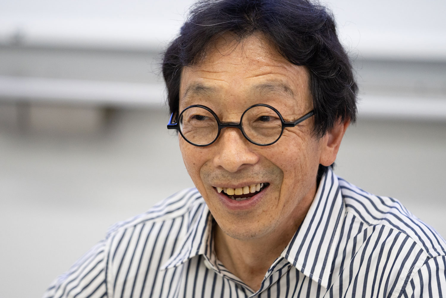 Mr Kikuo Ibe, inventor of the G-Shock