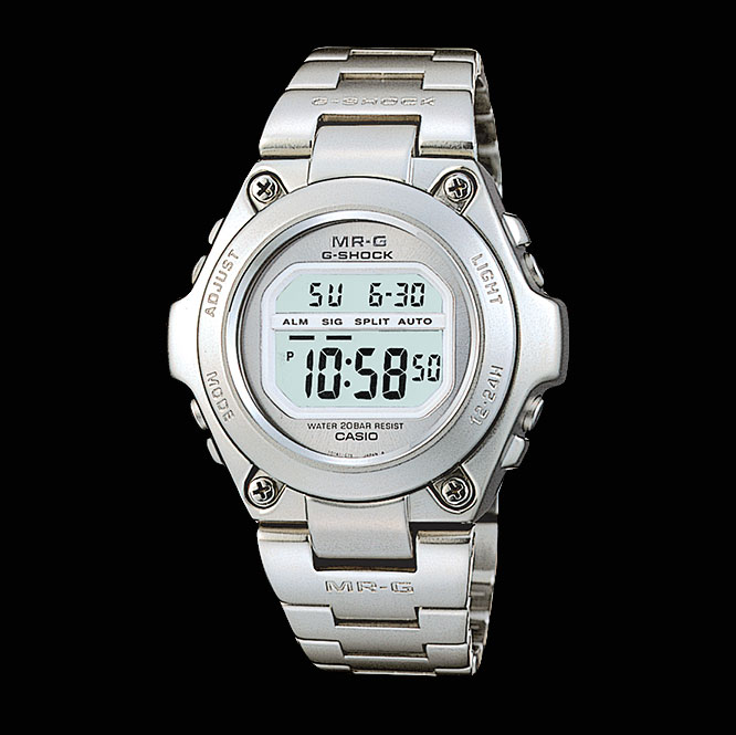 The 1996 all steel G-Shock MRG-100
