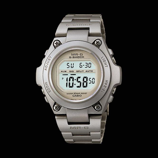 Đồng hồ G-Shock MRG-100T năm 1996 hoàn toàn bằng titan