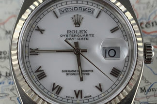 The Oysterquart Perpetual Calendar timepiece belonging to James Dowling