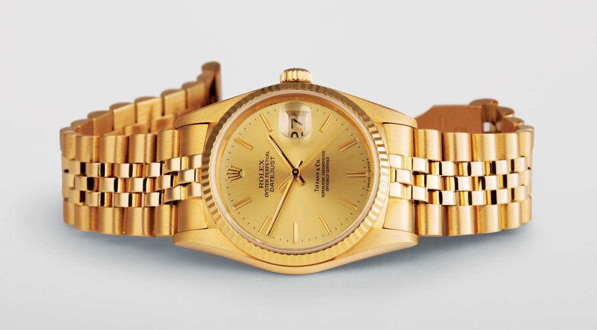 Tiffany dial Rolex Datejust