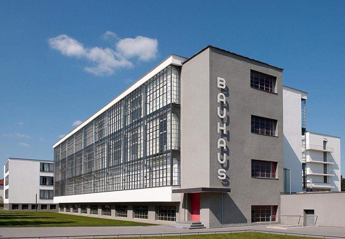 Bauhaus Building by Walter Gropius, Dessau
