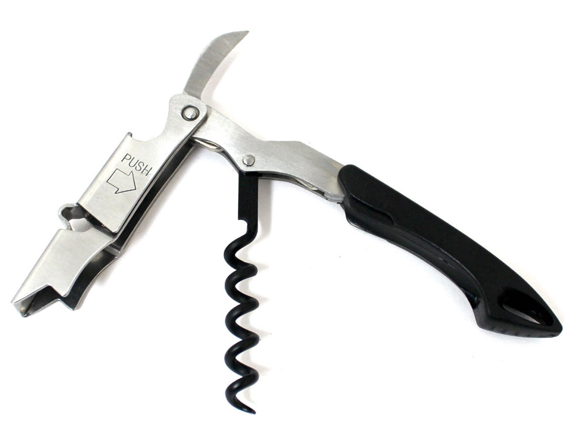 """""""Waiter's friend"""" cockscrew, fittingly named for packing immense utility in a compact design"""