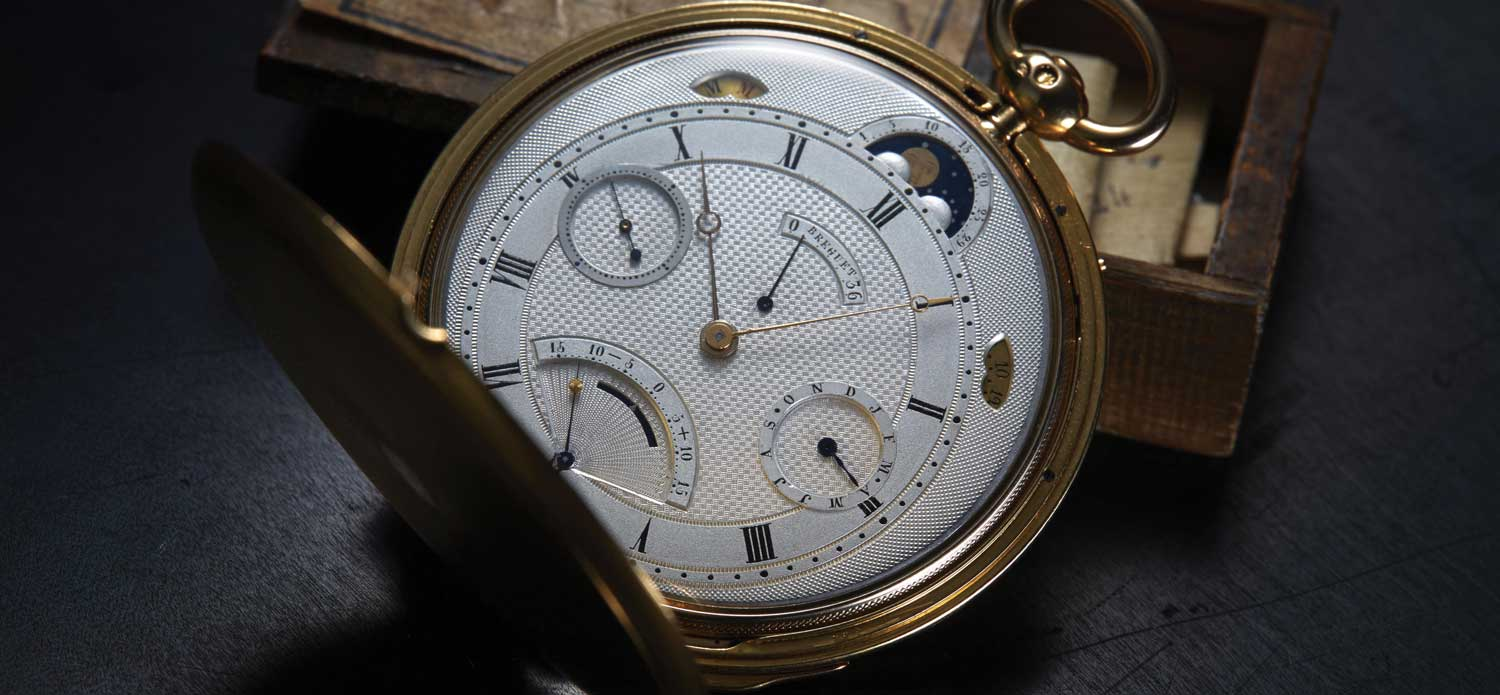 Breguet Pocket Watch No. 4691
